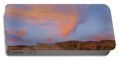 Sunset Clouds, Badlands Portable Battery Charger