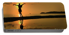 Sunset Dance Portable Battery Charger