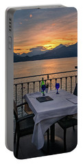 Sunset Dining Portable Battery Charger