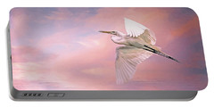 Sunset Egret Portable Battery Charger