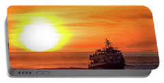 Sunset Ferry Portable Battery Charger