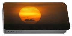 Sunset Fireball Portable Battery Charger