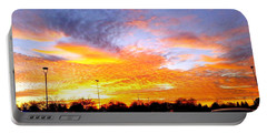 Sunset Forecast Portable Battery Charger
