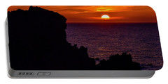 Sunset From Costa Paradiso Portable Battery Charger