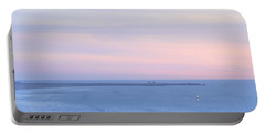 Sunset From Irish Beach Portable Battery Charger