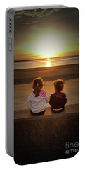 Sunset Sisters Portable Battery Charger