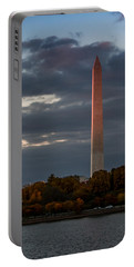 Sunset Glow Portable Battery Charger by Ed Clark