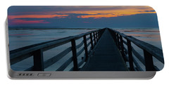Sunset Grays Beach Cape Cod Portable Battery Charger