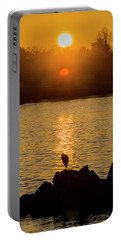 Sunset Heron Portable Battery Charger