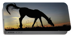 Sunset Horse Portable Battery Charger