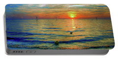 Sunset Impressions Portable Battery Charger