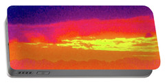 Sunset In Abstract 500 Portable Battery Charger