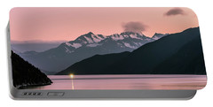 Sunset In Alaska Portable Battery Charger