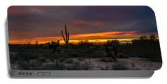 Sunset In Arizona Portable Battery Charger