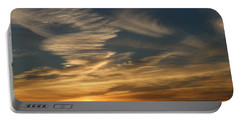 Sunset In Bar Harbor Portable Battery Charger by Living Color Photography Lorraine Lynch