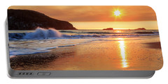 Sunset In Brookings Portable Battery Charger