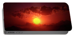 Sunset In Egypt 9 Portable Battery Charger