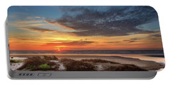 Portable Battery Charger featuring the photograph Sunset In Florence by James Eddy