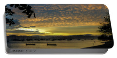 Sunset In Florianopolis Portable Battery Charger