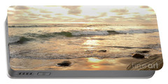 Sunset In Golden Tones Torrey Pines Natural Preserves #2 Portable Battery Charger