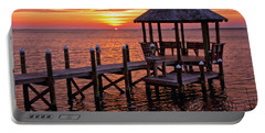 Sunset In Hatteras Portable Battery Charger