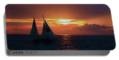 Sunset In Key West Portable Battery Charger