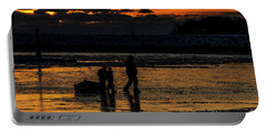 Sunset In Port Colborne Portable Battery Charger