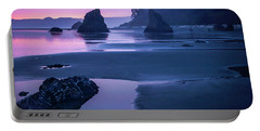 Sunset In Ruby Beach Portable Battery Charger