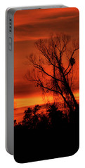 Sunset In Sacramento Portable Battery Charger