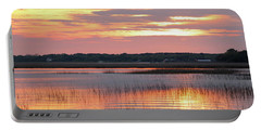 Sunset In South Carolina Portable Battery Charger