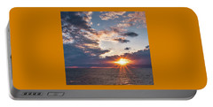 Sunset In The Clouds Portable Battery Charger