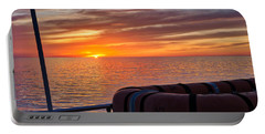 Sunset In The Gulf Portable Battery Charger