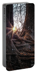 Sunset In The Woods Portable Battery Charger