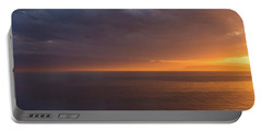Portable Battery Charger featuring the photograph Sunset In Tracey Arm by Brenda Jacobs
