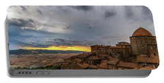 Sunset In Volterra Portable Battery Charger