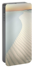 Sunset In White Sands Portable Battery Charger