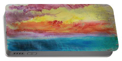 Sunset Lagoon Portable Battery Charger