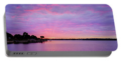 Sunset Lake Arlington Texas Portable Battery Charger