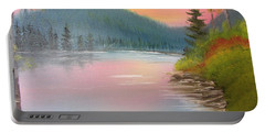 Sunset Lake Portable Battery Charger