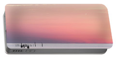 Sunset Landscape Portable Battery Charger