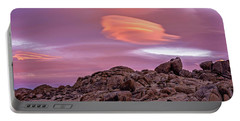 Portable Battery Charger featuring the photograph Sunset Lenticular by John Hight