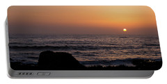 Portable Battery Charger featuring the photograph Sunset by Lora Lee Chapman