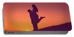 Sunset Love Portable Battery Charger