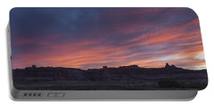 Sunset Near Court House Wash Portable Battery Charger