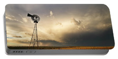 Sunset Near Santa Rosa New Mexico Portable Battery Charger