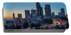 Sunset Night-freeway Lights Portable Battery Charger