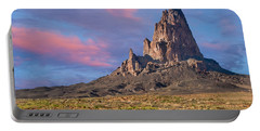 Sunset On Agathla Peak Portable Battery Charger