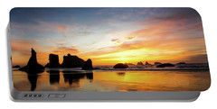 Sunset On Bandon Portable Battery Charger