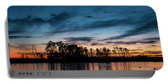 Sunset On Blackwater Refuge Portable Battery Charger