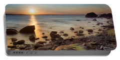 Sunset On Boulder Beach Portable Battery Charger